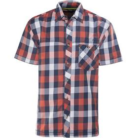 Meru Kilkis - T-shirt manches courtes Homme - orange/bleu